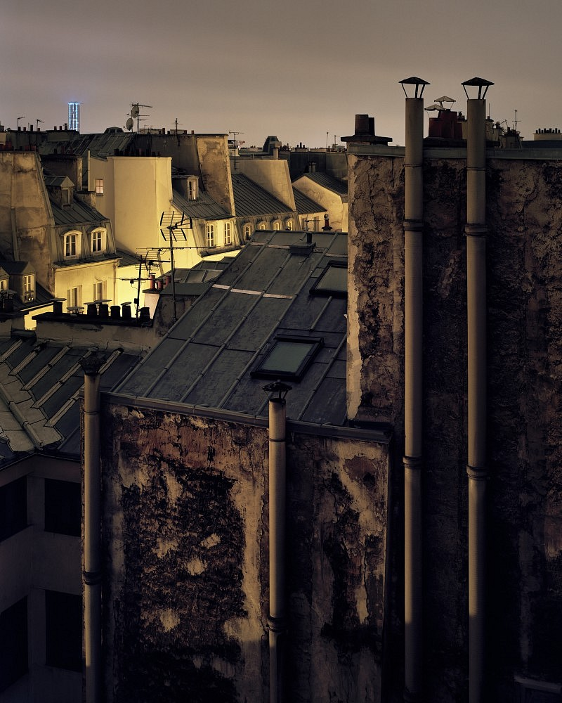 toit paris cornu photo