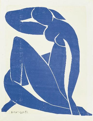 Nu bleu II 1952 pompidou