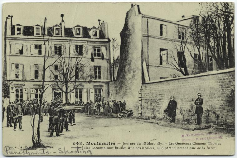 execution commune de paris montmartre