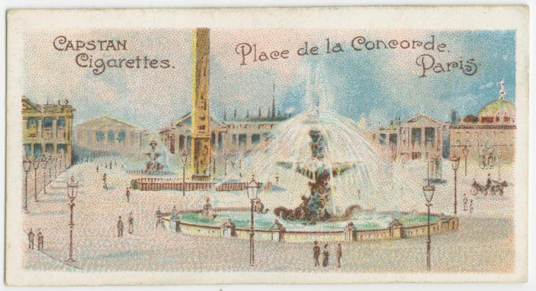 photo carte cigarette concorde paris