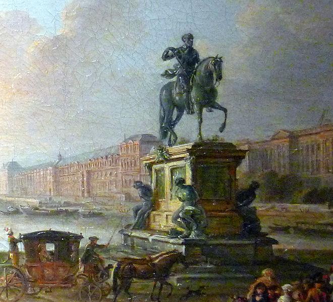 Jean-Baptiste Lallemand, détail - Musée Carnavalet