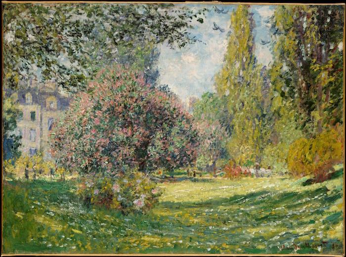 Monet, le Parc Monceau, 1876.