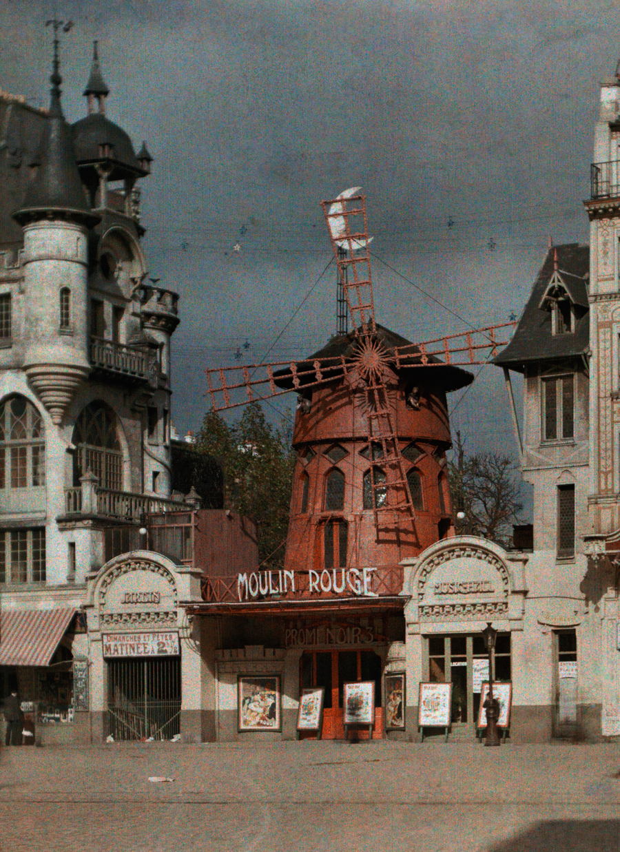 moulin rouge photo 1923