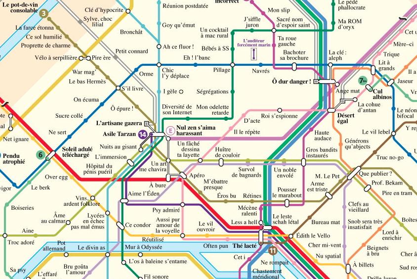 plan metro anagrammes paris