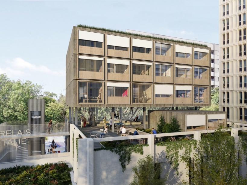 projet maurice ravel castagnary reinventer paris