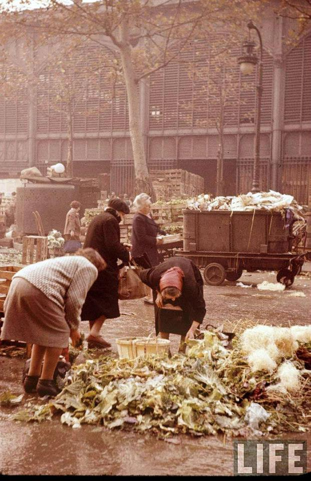 anciennes halles paris 1956