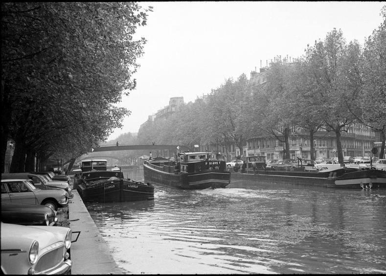 canal saint martin 1953