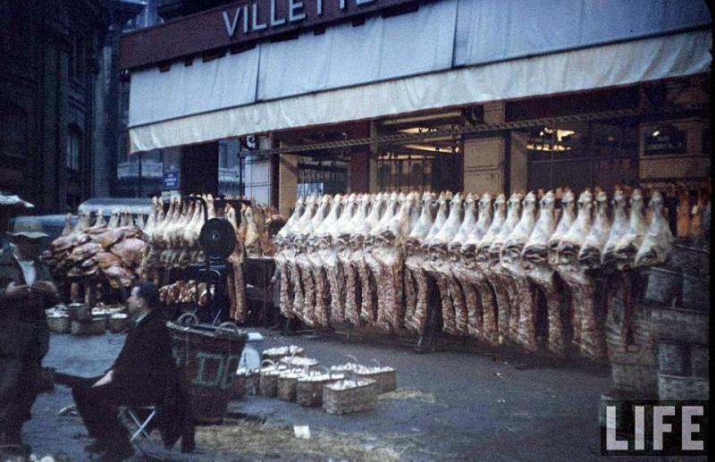 les halles paris magazine life 1956