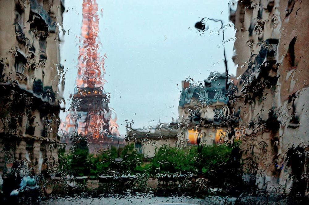 paris pluie christophe jacrot rue