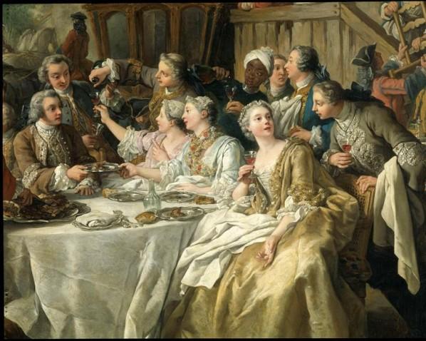 Le déjeuner de chasse Jean François de TROY