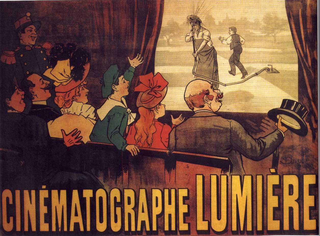 cinématographe Lumiere affiche