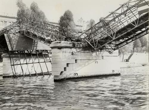 effondrement pont des arts 1979