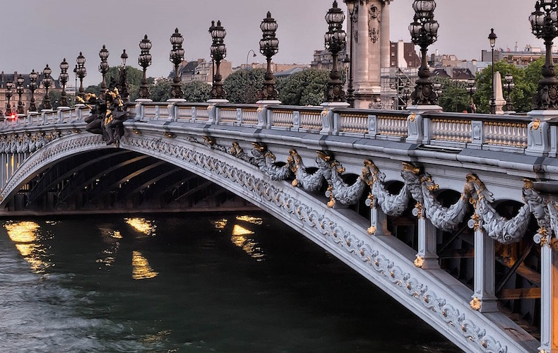 nymphes pont alexandre III