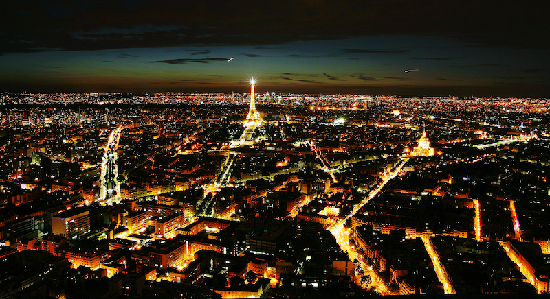 Observatoire Panoramique de la Tour Montparnasse by night