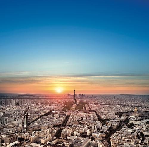 Observatoire Panoramique de la Tour Montparnasse coucher soleil
