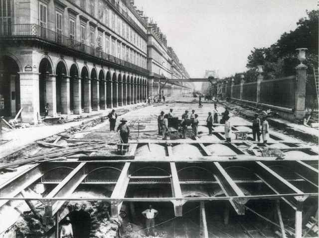 travaux metro paris