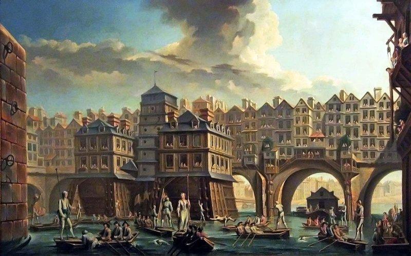 la joute des mariniers Nicolas Jean Baptiste Raguenet