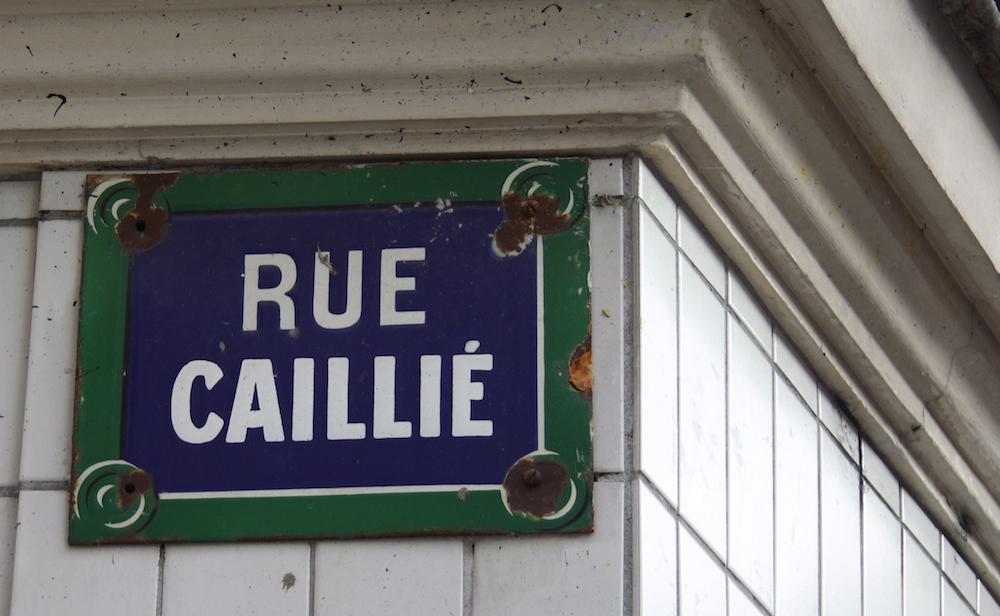 rue caillie paris