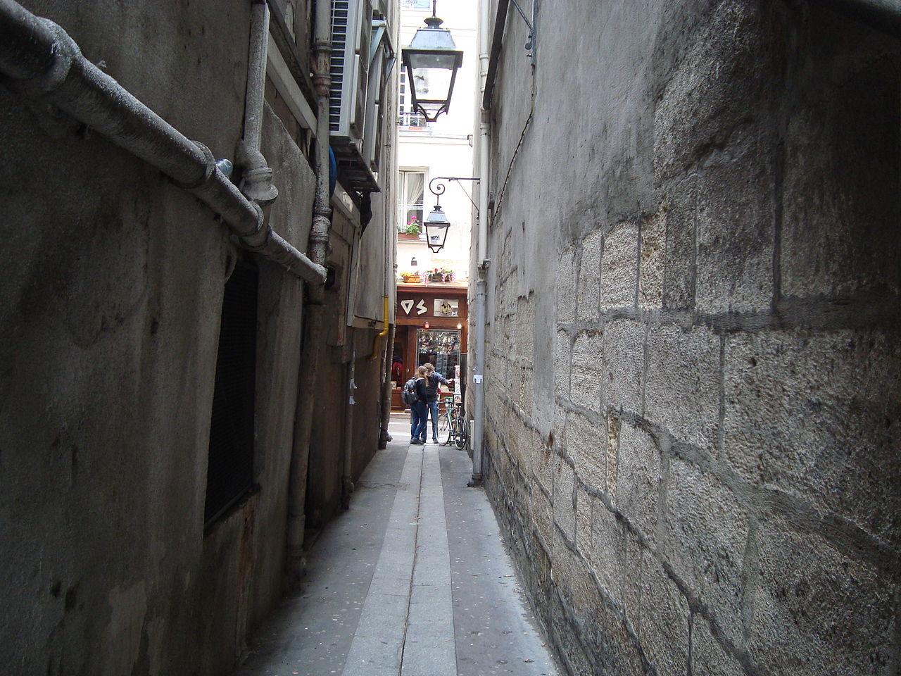 rue secrets paris