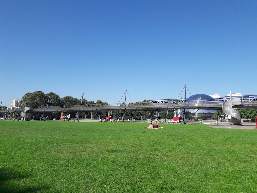 parc de la villette geode