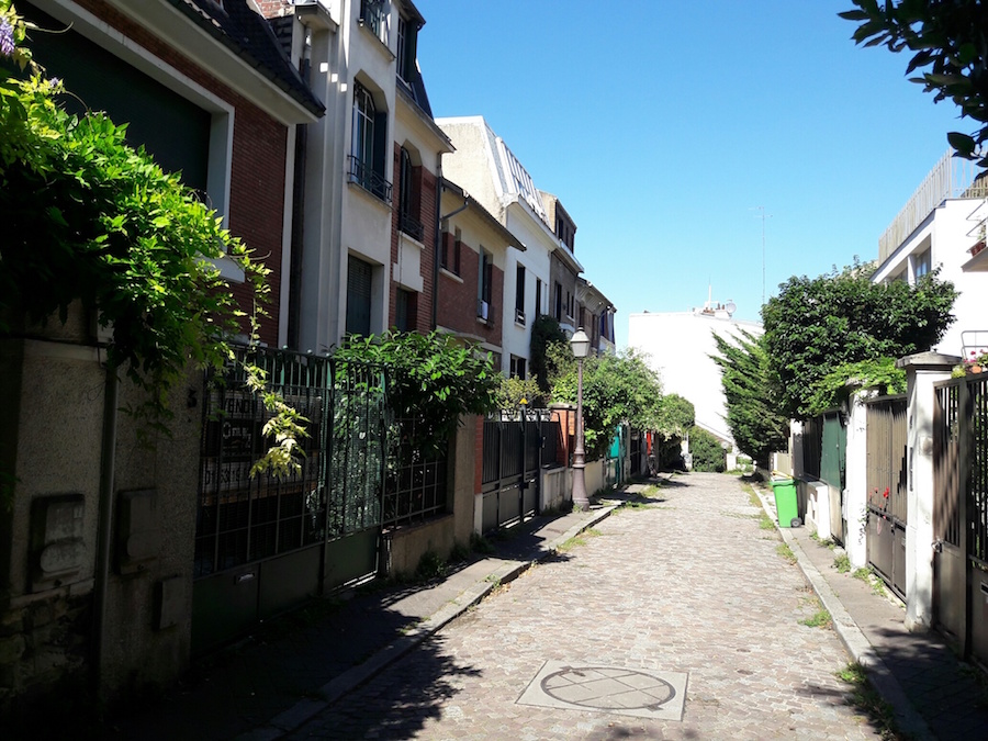 villa mouzaia paris
