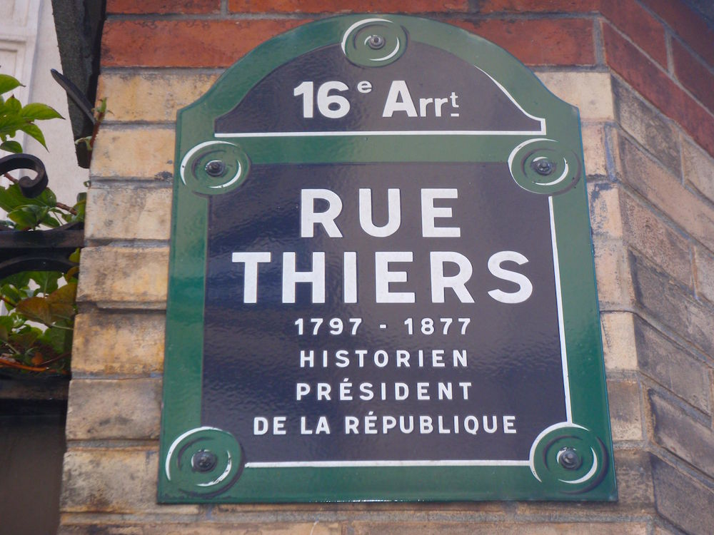 rue thiers paris 16e