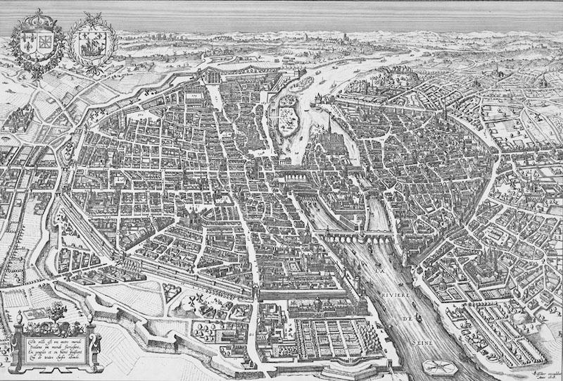 vieux plan paris