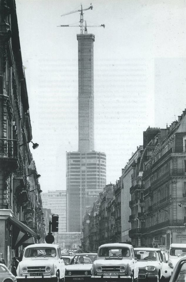 construction tour montparnasse