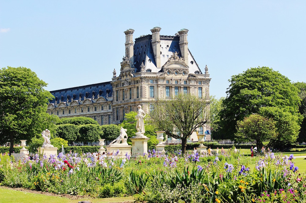 jardin des tuileries balade