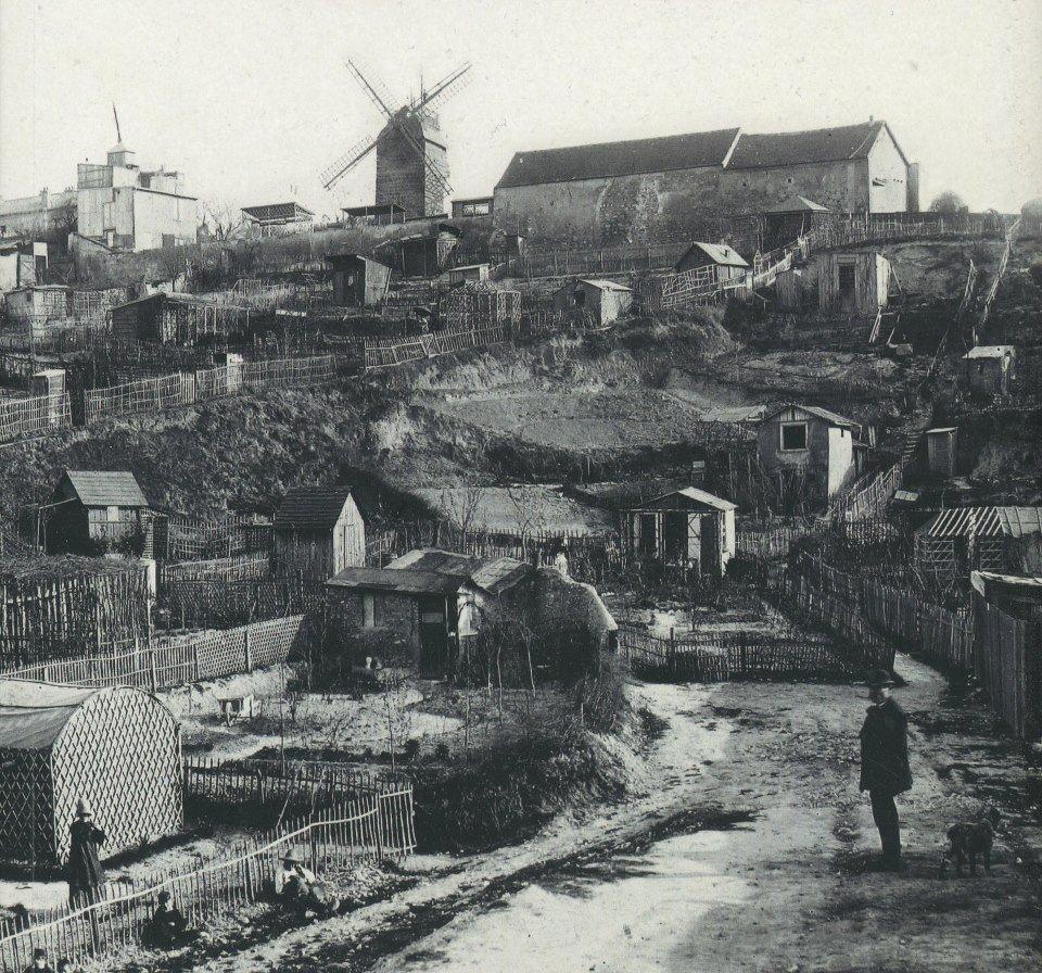maquis de montmartre 1890