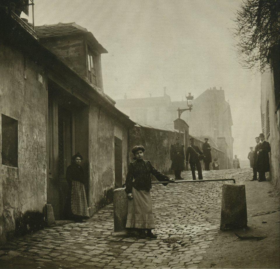montmartre 1904 allee des brouillards