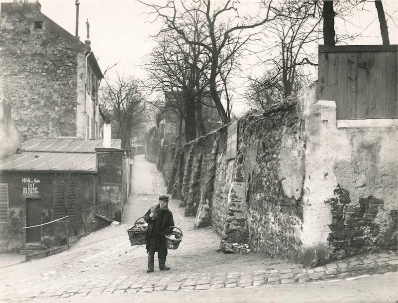 montmartre 1904 angle rue des saules rue saint vincent