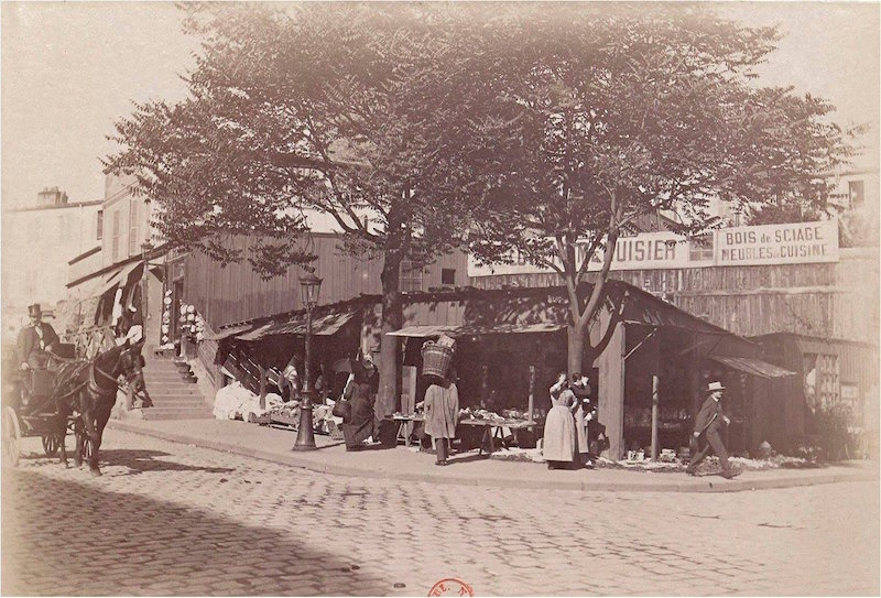 montmartre rue ronsard 1887