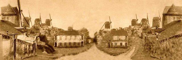 moulins montmartre 1845