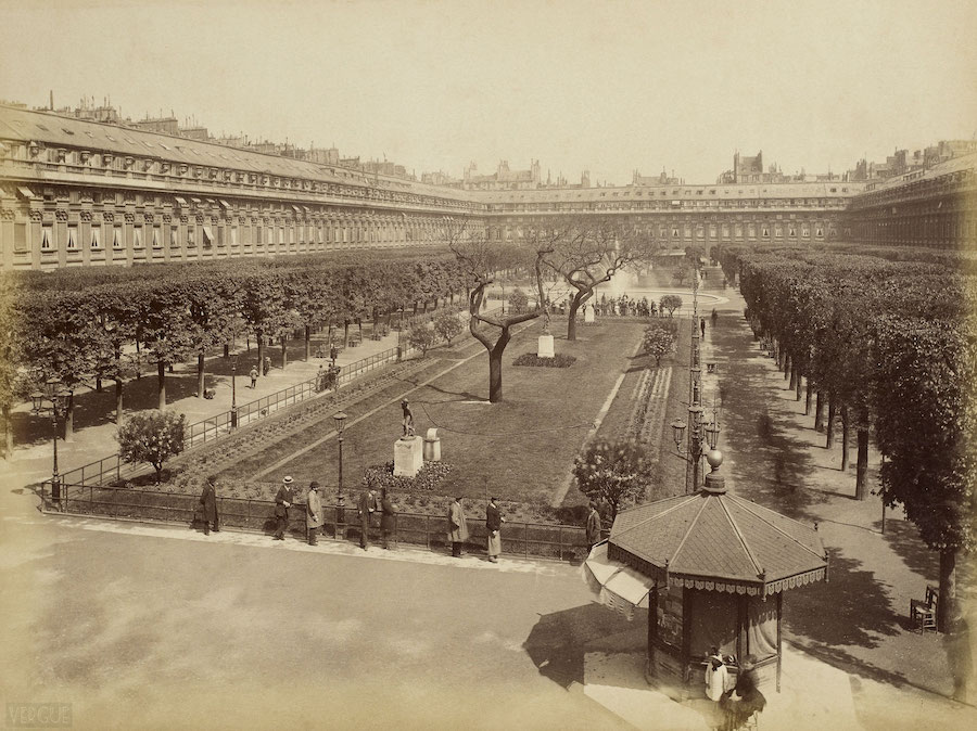 palais royal visite guidee