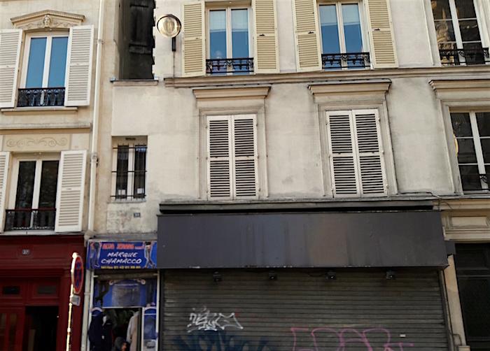 plus petite maison paris rue chateau deau