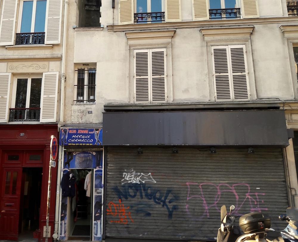 Brilliant Smallest House In Paris Un Jour De Plus A Paris Download Free Architecture Designs Terstmadebymaigaardcom