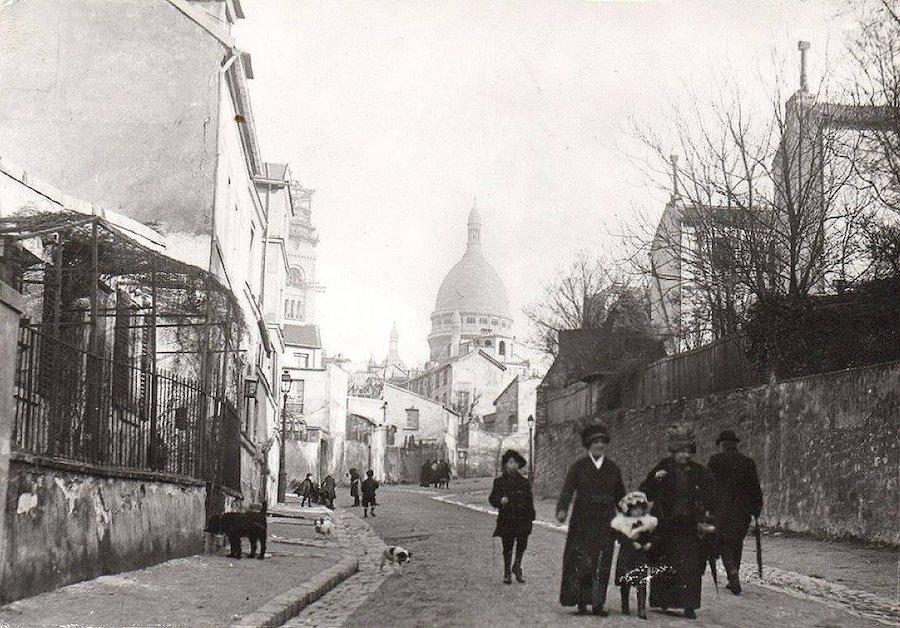 rue de labreuvoir 1900