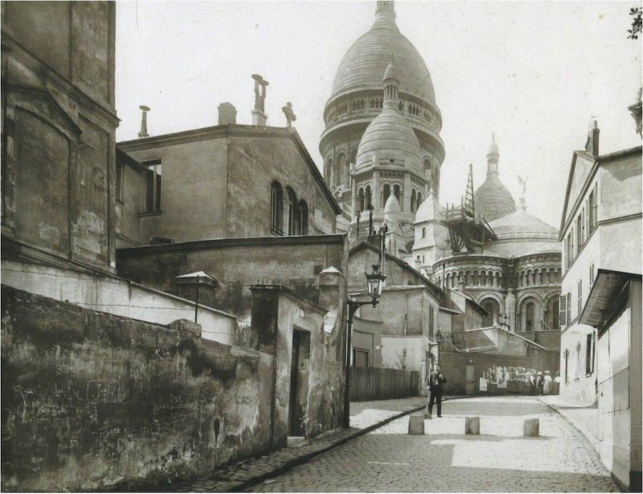 rue du Chevalier de La Barre vers 1910