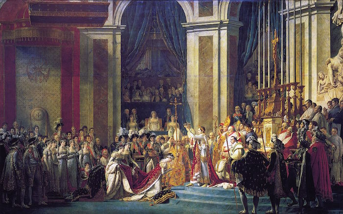 Jacques-Louis David, Le Sacre de Napoléon