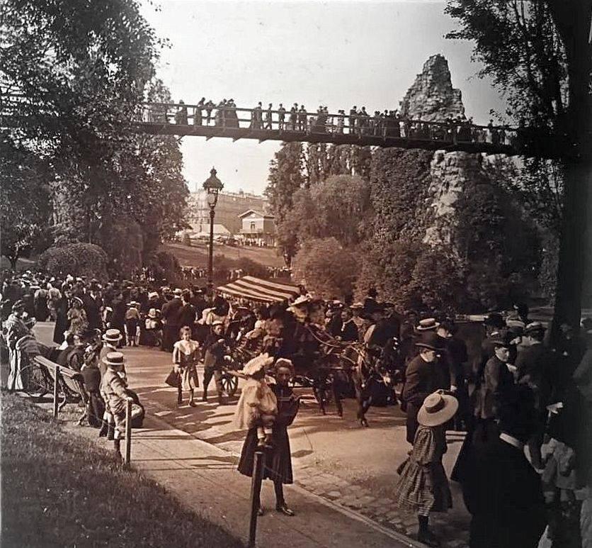 buttes chaumont 1910