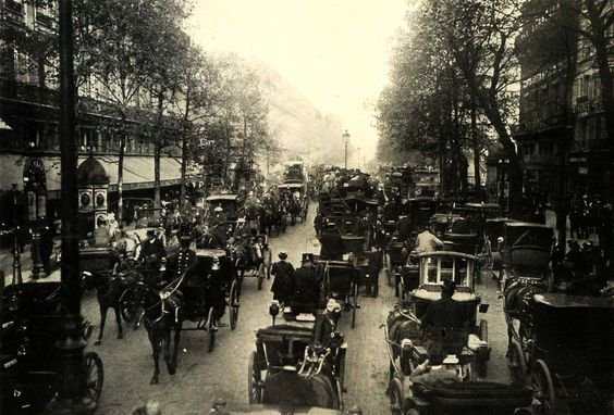 grands boulevards 19e siecle