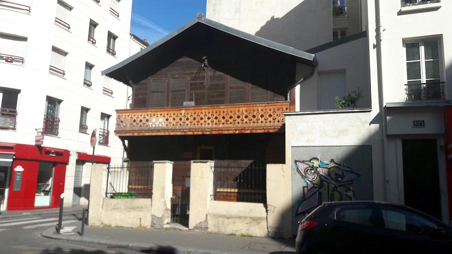 chalet paris rue de meaux