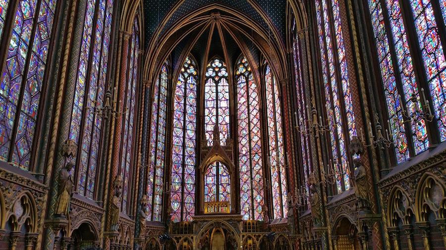 sainte chapelle chapelle haute
