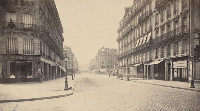 Rue de Rennes en 1877, State Library of Victoria