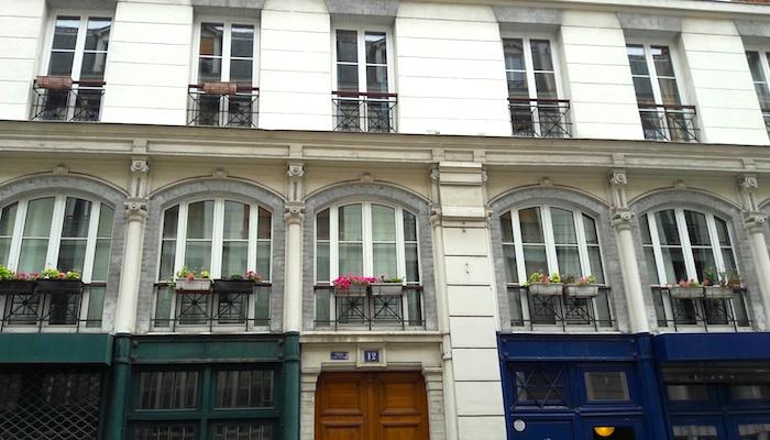 rue des immeubles industriels paris