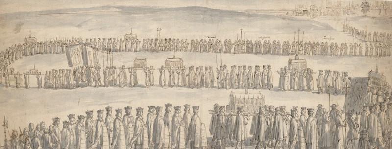 procession de la chasse de sainte genevieve