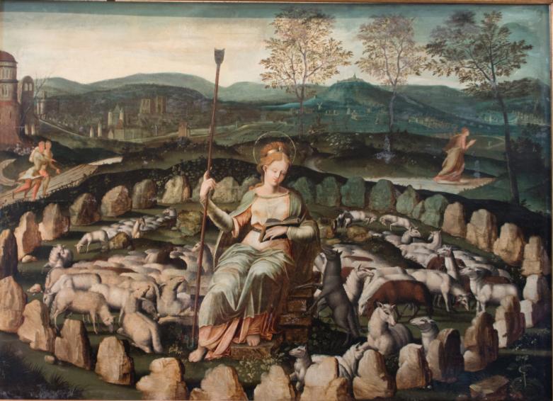 tableau sainte genevieve