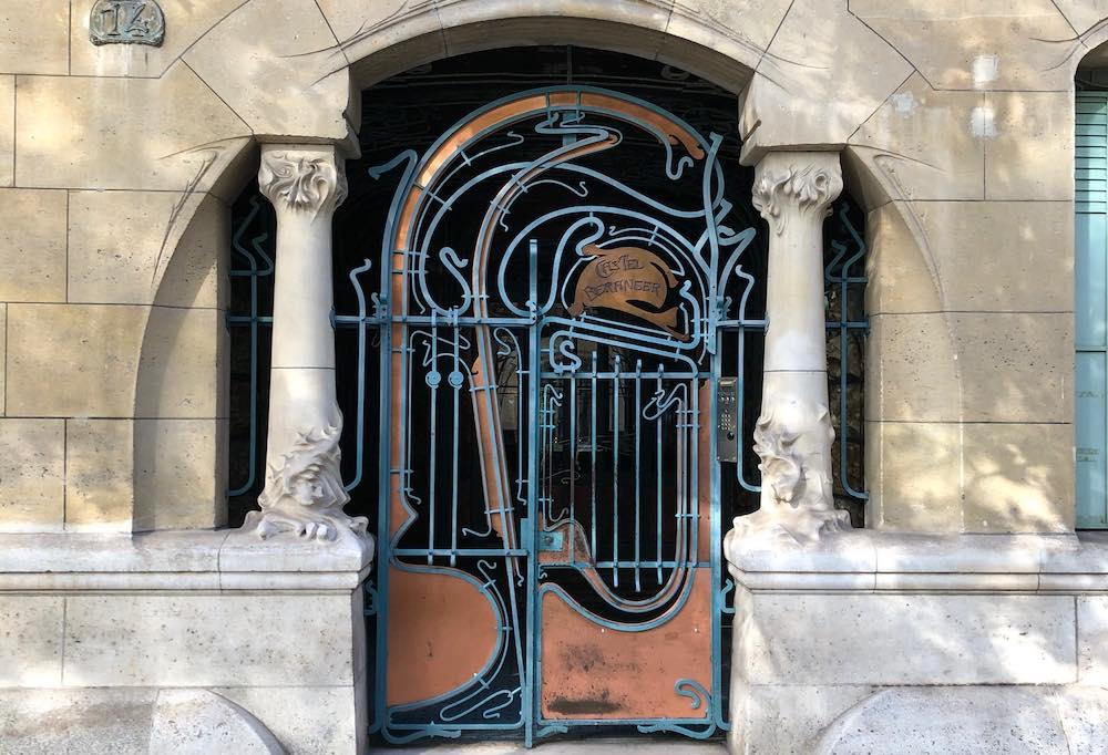 visite guidee art nouveau paris 16