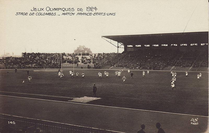 france etats unis rugby 1924